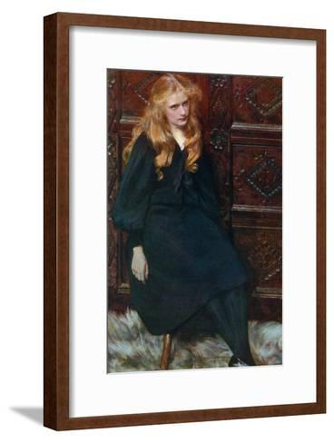 Ethel, 1897-Ralph Peacock-Framed Art Print