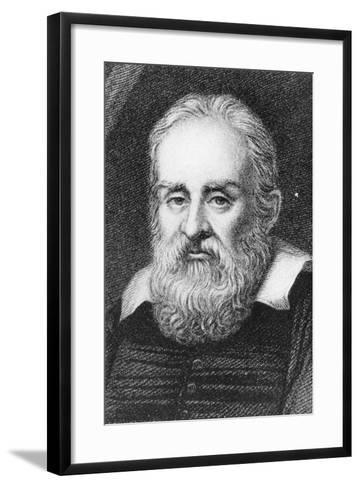 Galileo Galilei, Italian Astronomer and Physicist, 1635-Ramsay-Framed Art Print