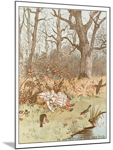 Scene from the Babes in the Wood, 1878-Randolph Caldecott-Mounted Giclee Print