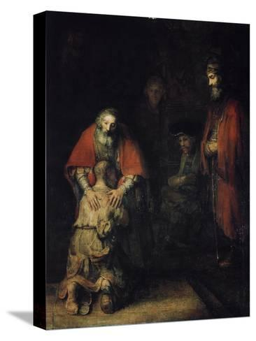 The Return of the Prodigal Son, C1668-Rembrandt van Rijn-Stretched Canvas Print