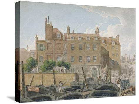 The Treasury, Whitehall, Westminster, London, 1818-Robert Blemmell Schnebbelie-Stretched Canvas Print