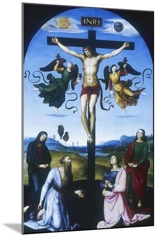 Mond Crucifixion, C1530-Raphael-Mounted Giclee Print