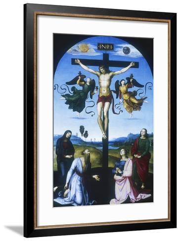 Mond Crucifixion, C1530-Raphael-Framed Art Print