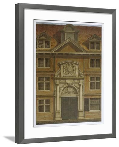 Blackwell Hall, City of London, 1819-Robert Blemmell Schnebbelie-Framed Art Print