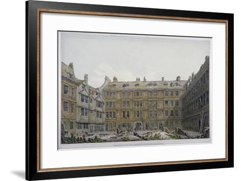 Furnival's Inn, City of London, 1818-Robert Blemmell Schnebbelie-Framed Art Print