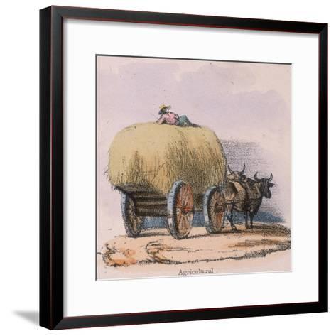 Agricultural, C 1845-Robert Kent Thomas-Framed Art Print