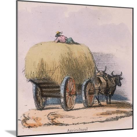 Agricultural, C 1845-Robert Kent Thomas-Mounted Giclee Print