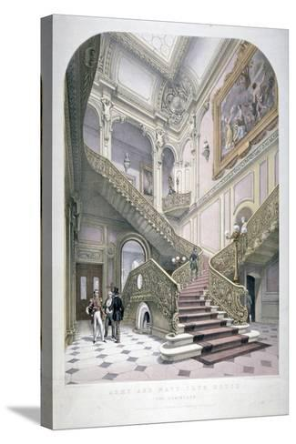 The Army and Navy Club, Pall Mall, Westminster, London, 1853-Robert Kent Thomas-Stretched Canvas Print