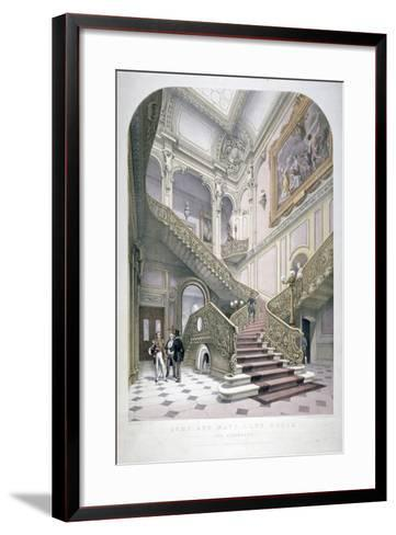 The Army and Navy Club, Pall Mall, Westminster, London, 1853-Robert Kent Thomas-Framed Art Print