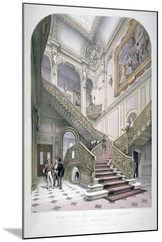 The Army and Navy Club, Pall Mall, Westminster, London, 1853-Robert Kent Thomas-Mounted Giclee Print