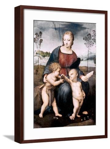 Madonna Del Cardellino, 1507-Raphael-Framed Art Print