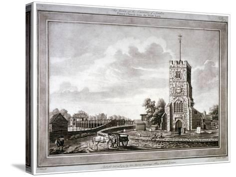 Church of St Mary, Putney, Wandsworth, London, 1783-Robert Laurie-Stretched Canvas Print