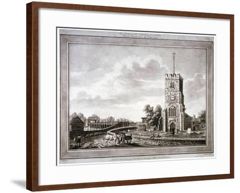 Church of St Mary, Putney, Wandsworth, London, 1783-Robert Laurie-Framed Art Print