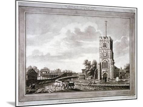 Church of St Mary, Putney, Wandsworth, London, 1783-Robert Laurie-Mounted Giclee Print