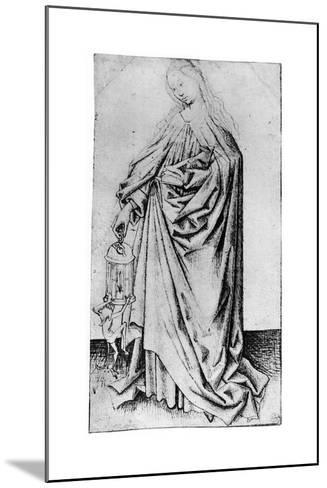 Sketch of a Saint, 1913-Rogier van der Weyden-Mounted Giclee Print