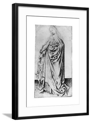 Sketch of a Saint, 1913-Rogier van der Weyden-Framed Art Print