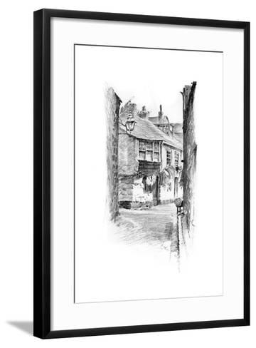 St Ives, Cornwall, 1898-Robert Norton Nance-Framed Art Print