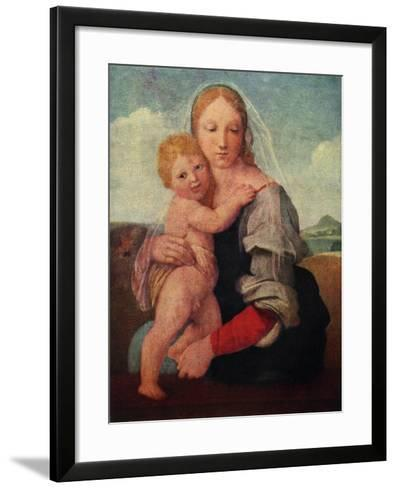 The Mackintosh Madonna, C1510-1512-Raphael-Framed Art Print
