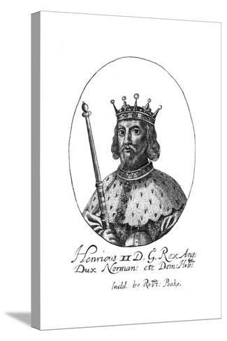 Henry II, King of England-Robert Peake-Stretched Canvas Print