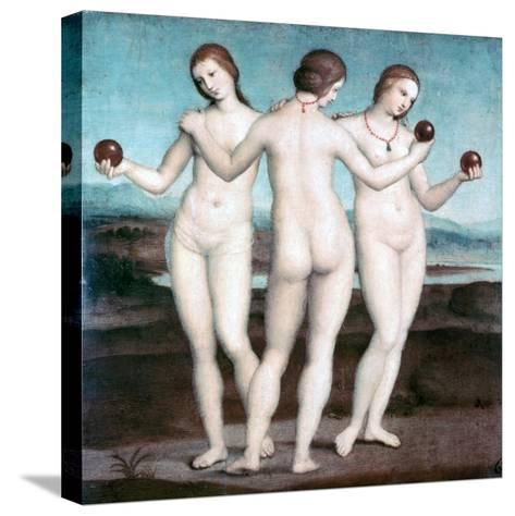 The Three Graces, 1504-1505-Raphael-Stretched Canvas Print