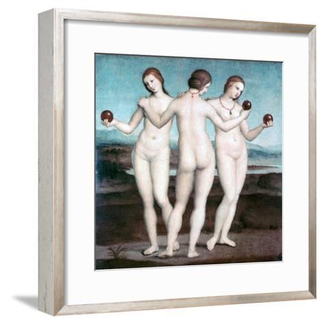 The Three Graces, 1504-1505-Raphael-Framed Art Print
