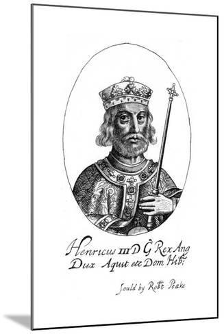Henry III of England-Robert Peake-Mounted Giclee Print