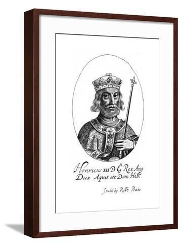 Henry III of England-Robert Peake-Framed Art Print