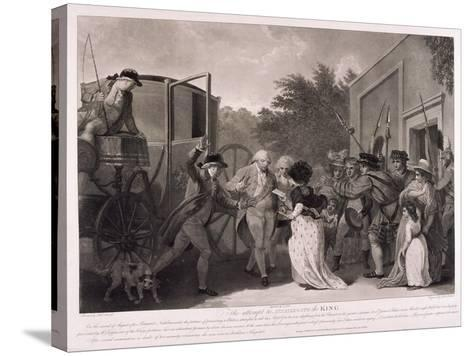 Assassination Attempt on King George III, 1786-Robert Pollard-Stretched Canvas Print