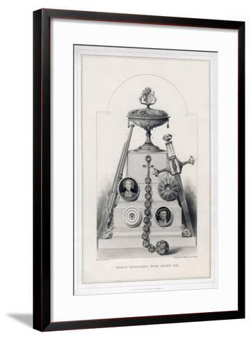 Relics Associated with Henry VIII-R Anderson-Framed Art Print