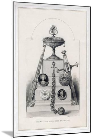 Relics Associated with Henry VIII-R Anderson-Mounted Giclee Print