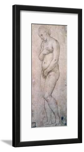 Study of Venus, C1500-1520-Raphael-Framed Art Print