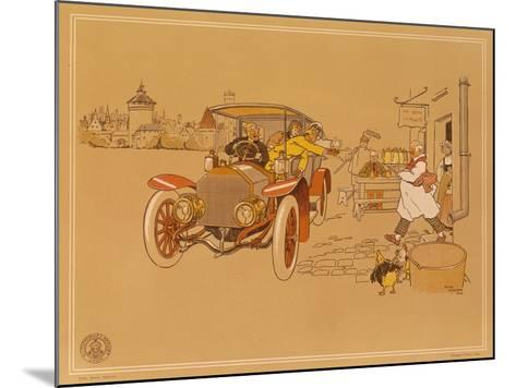 Poster Advertising Berliet Cars, 1906-Ren? Vincent-Mounted Giclee Print