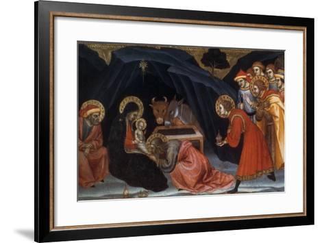 Epiphany, Late 14Th/Early 15th Century-Taddeo di Bartolo-Framed Art Print