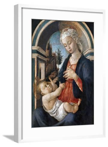 Virgin and Child, C1444-1510-Sandro Botticelli-Framed Art Print