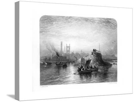 St Andrews, Scotland, 1870-S Bradshaw-Stretched Canvas Print