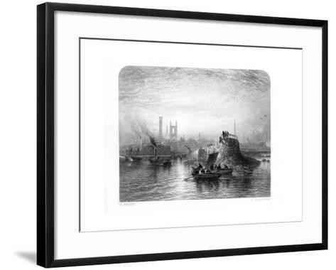 St Andrews, Scotland, 1870-S Bradshaw-Framed Art Print