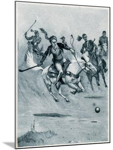 Game of Polo, 1888-Stanley L Wood-Mounted Giclee Print