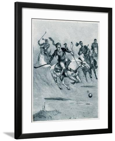 Game of Polo, 1888-Stanley L Wood-Framed Art Print