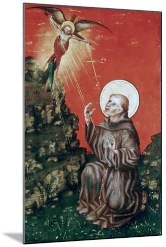 St Francis Receiving the Stigmata, C1430-1451-Stephan Lochner-Mounted Giclee Print