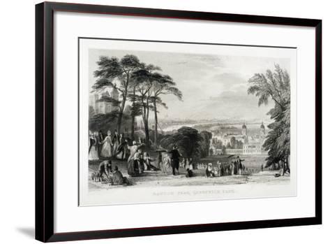 Greenwich Park, Greenwich, London, 1844-Thomas Abiel Prior-Framed Art Print