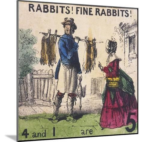Rabbits! Fine Rabbits!, Cries of London, C1840-TH Jones-Mounted Giclee Print