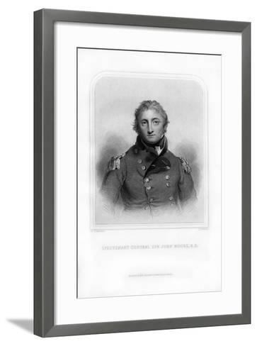 Sir John Moore, British Soldier and General-S Freeman-Framed Art Print