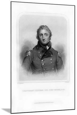 Sir John Moore, British Soldier and General-S Freeman-Mounted Giclee Print