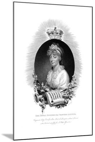 Her Royal Highness the Princess Augusta, Second Daughter of George Iii, 1806- Scriven-Mounted Giclee Print