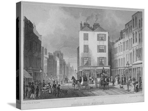 Middle Row, Holborn, London, 1829-Thomas Barber-Stretched Canvas Print