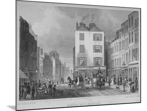 Middle Row, Holborn, London, 1829-Thomas Barber-Mounted Giclee Print