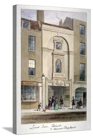 Lyon's Inn, Strand, Westminster, London, C1850-Thomas Hosmer Shepherd-Stretched Canvas Print