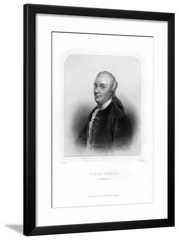 James Bruce, Scottish Traveller and Travel Writer-S Freeman-Framed Art Print