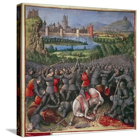Battle During First Crusade (People's Crusad), 1096-1099-Sebastian Marmoret French-Stretched Canvas Print