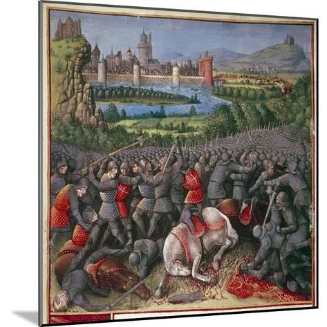 Battle During First Crusade (People's Crusad), 1096-1099-Sebastian Marmoret French-Mounted Giclee Print